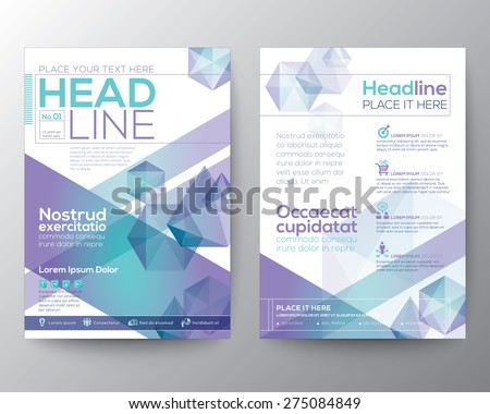 abstract polygon design vector