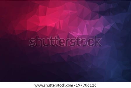 Abstract polygonal background,vector