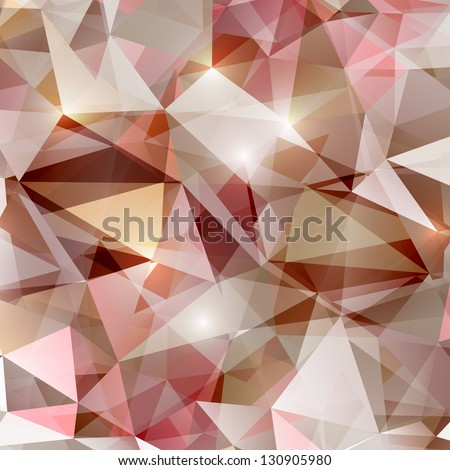 abstract polygonal bright vector background