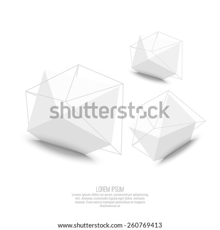 abstract polygonal geometric