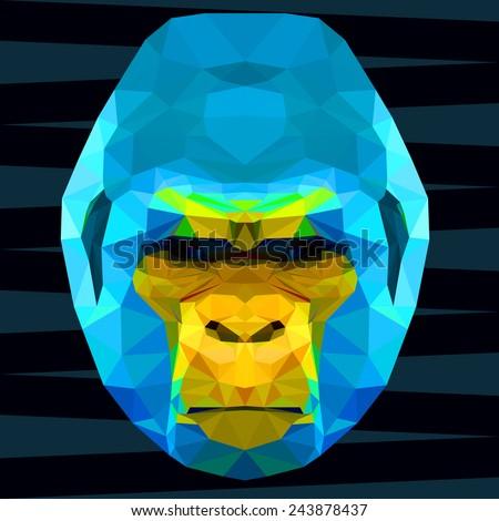 abstract polygonal geometric