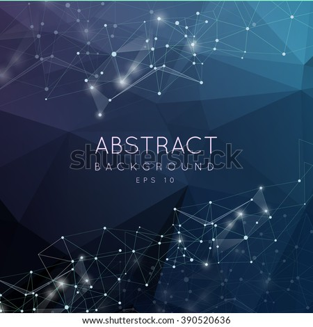 abstract polygonal surface