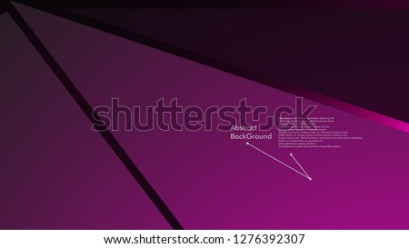 Abstract polygonal vector background.  geometric vector illustration. Creative design template #1276392307