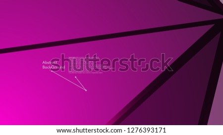 Abstract polygonal vector background.  geometric vector illustration. Creative design template #1276393171