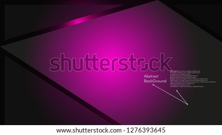 Abstract polygonal vector background.  geometric vector illustration. Creative design template #1276393645