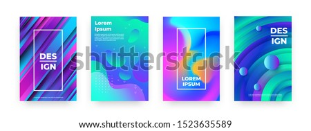 abstract posters trendy