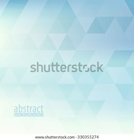 stock-vector-abstract-powder-blue-pattern-textured-by-triangles-light-pale-vector-background