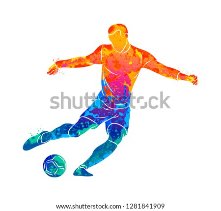 abstract professional soccer