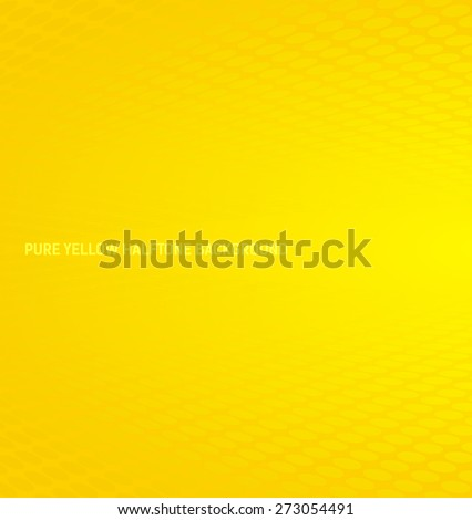 Abstract pure yellow halftone background