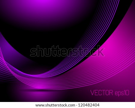 Abstract purple background lines - Shutterstock ID 120482404