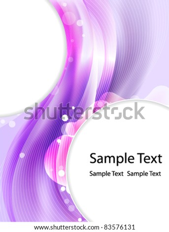 Abstract purple extraordinary background