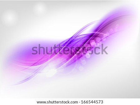 abstract purple shapes on the