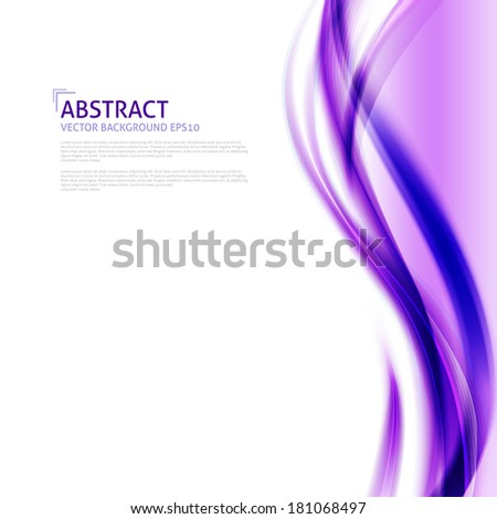 abstract purple waves