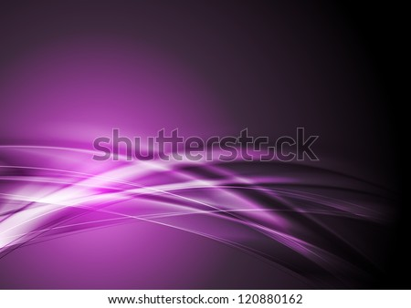 abstract purple wavy design