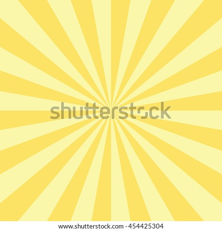 abstract radial sun burst