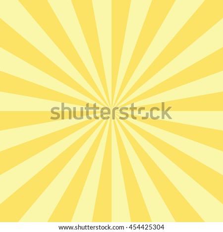 abstract radial sun burst