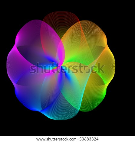 stock vector abstract rainbow background 50683324