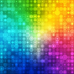 Abstract rainbow color background for your business artwork. Vector illustration.