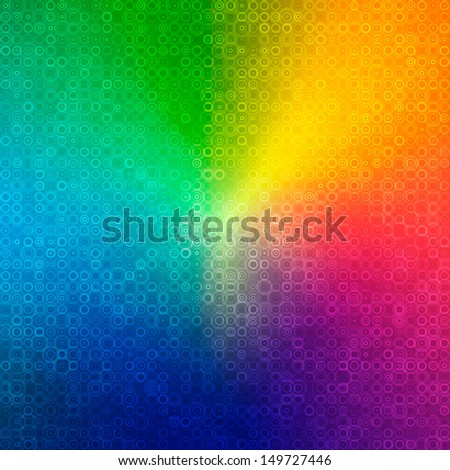 abstract rainbow color