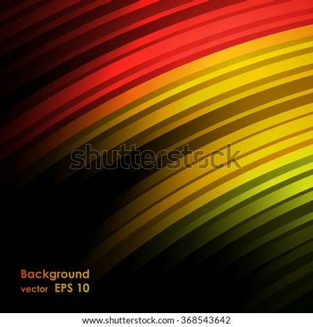 abstract rainbow colors on a