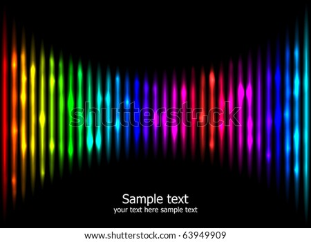 Abstract rainbow colours background eps10. Creative business template.