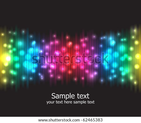 Abstract rainbow colours background. Modern vector illustration.