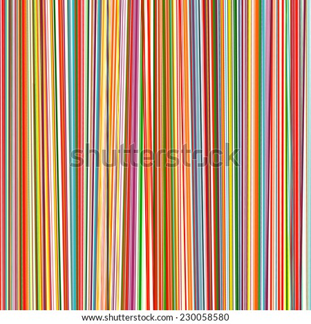 Stock Photo Abstract rainbow curved stripes color line background