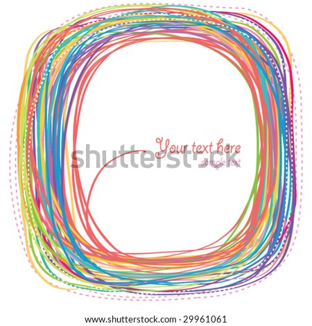 Abstract rainbow curves