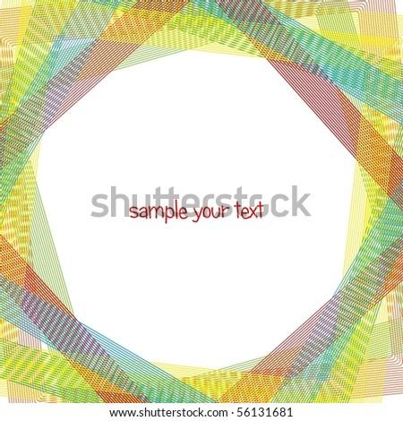 Abstract rainbow curves