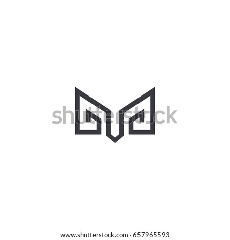 abstract ram vector illustration