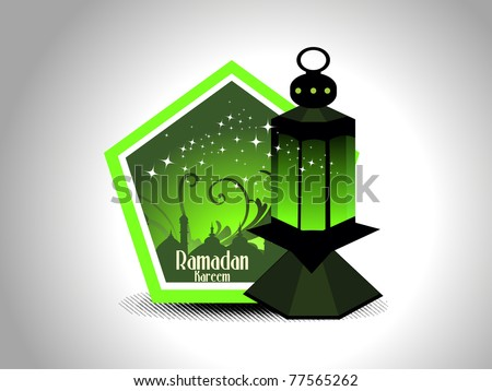 abstract ramazan background