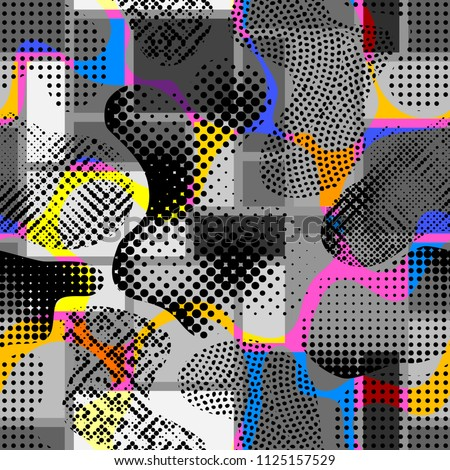 abstract random grunge pattern