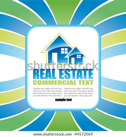 free real estate flyers. stock vector : Abstract Real