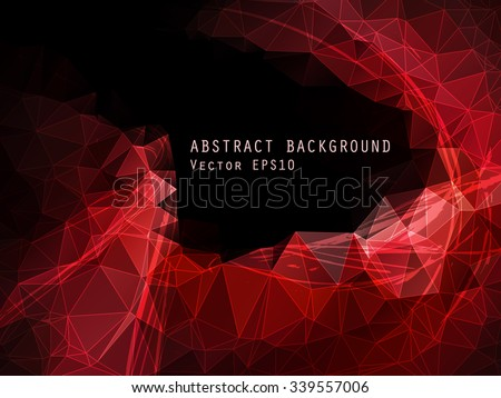 abstract red and black vector