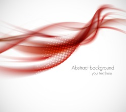 Abstract red background. Bright illustration