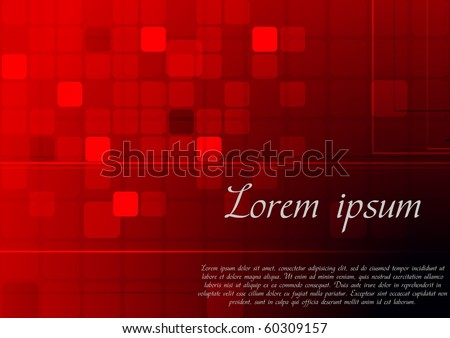 Abstract red background - eps 10 vector illustration