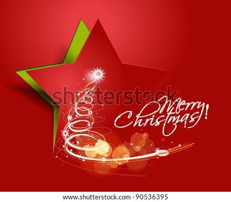 abstract red background for new year and for Christmas colorful design for text project used