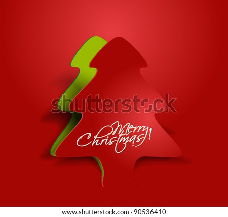abstract red background for new year and for Christmas colorful design for text project used.