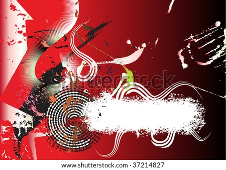 abstract red background, space for your text