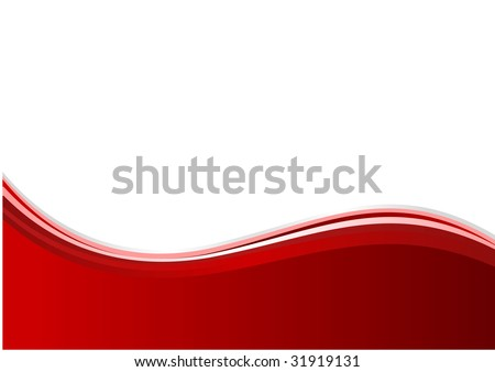 abstract red background. vector illustration with waves