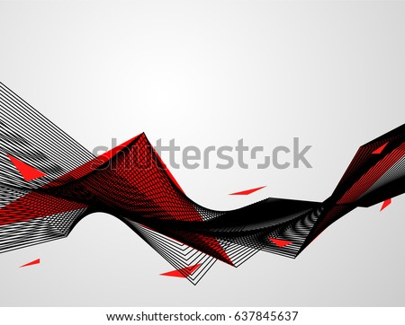 Abstract red black background