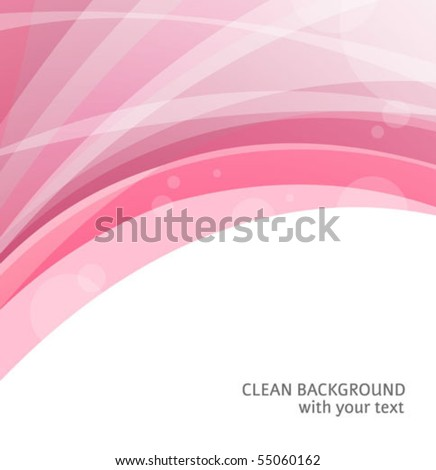 Abstract red curve backgrounds with a space for a text