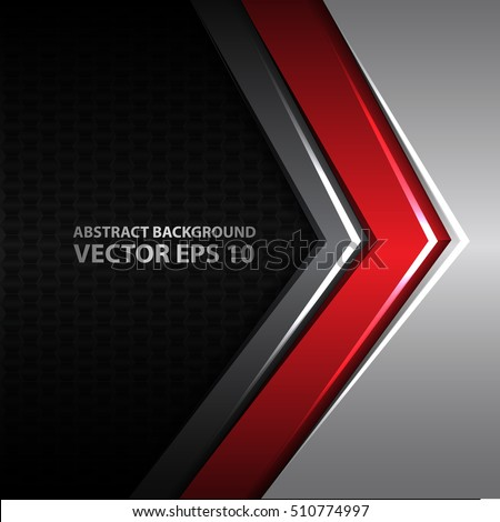 vector images illustrations and cliparts abstract red gray arrow