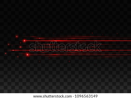 abstract red laser beams