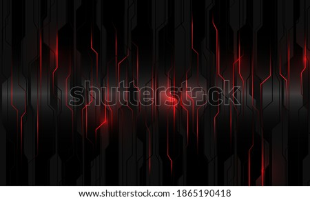 abstract red light power