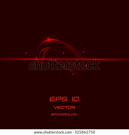 abstract red  lines background