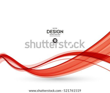 stock-vector-abstract-red-lines-vector-background-red-smoke-wave