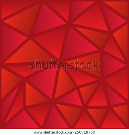 abstract red seamless polygon