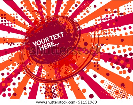 abstract red summer background
