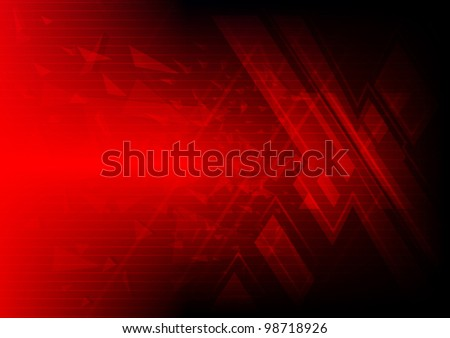 abstract red symbol xtreme background, vector illustration